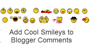 blogger blogspot, emoticons, smileys