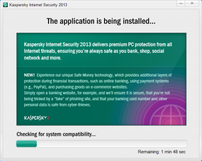 Kaspersky Internet Security 2013 Setup 2